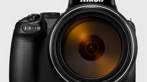 Nikon camera met megazoom