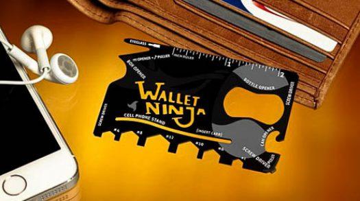 Wallet Ninja: creditcard als complete gereedschapsset