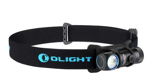Olight H1R zaklamp en hoofdlamp in één
