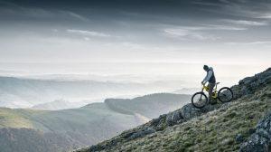 Peugeot elektrische mountainbike met in het frame geïntegreerde accu